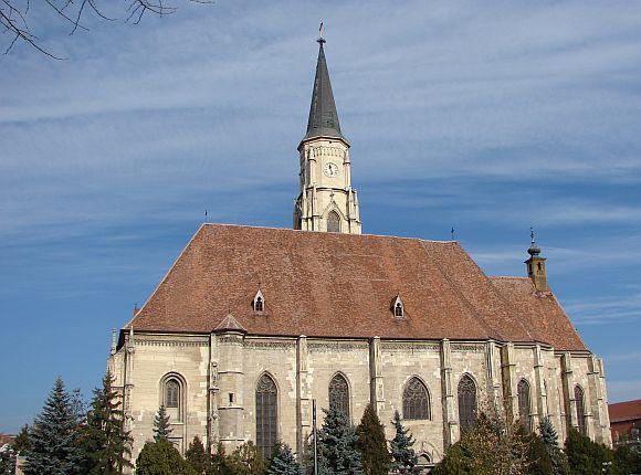 Kolozsvár - Szent Mihály templom.