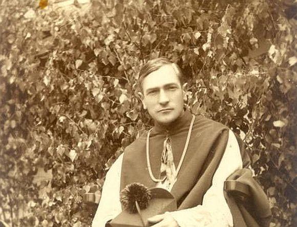 Márton Áron püspök - fotó: Márton Áron Múzeum - Csíkszentdomokos.