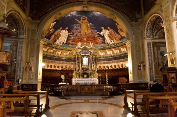 Roma-Szent-Kozma-es-Szent-Damjan-bazilika