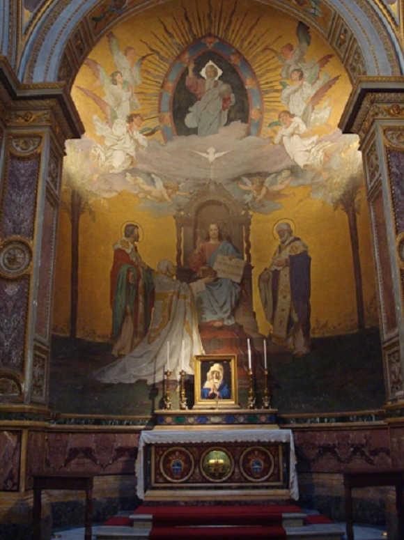 Szent-Cirill-sirja-Roma-Szent-Kelemen-bazilika