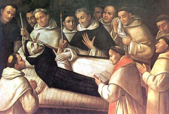 Szent-Domonkos-halala