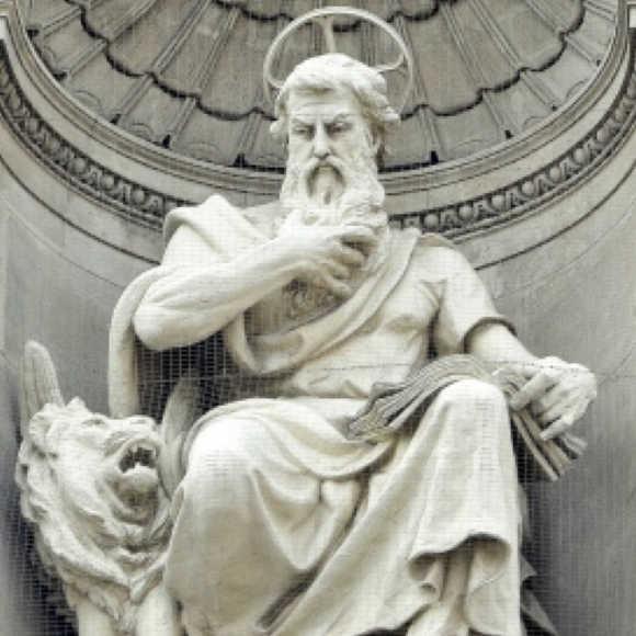 Szent-Mark-evangelista-szobra
