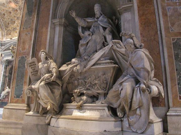 VII-Gergely-szobra